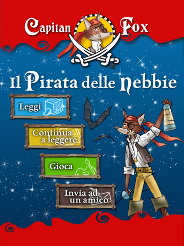 "El capitán de Fox ""The Pirate of Shadows"" llega en el IPAD"