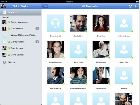 Skype para iPad vuelve a estar disponible en la App Store