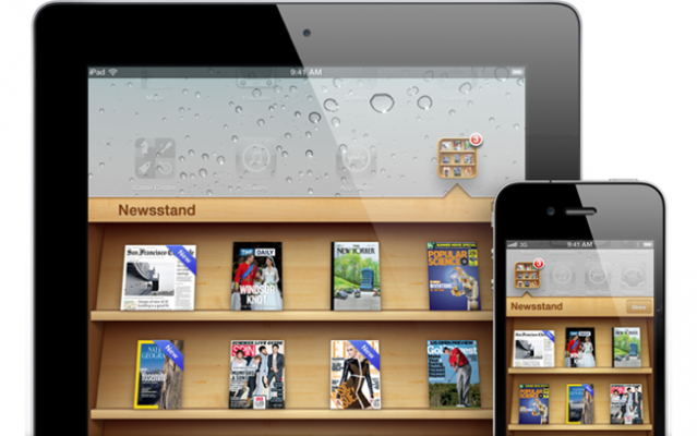 Adobe confirma que soportará NewsStand (de iOS 5)