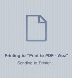Apple retira Print to PDF de la App Store