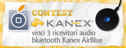 Contest Kanex: vinci 3 ricevitori audio bluetooth AirBlue