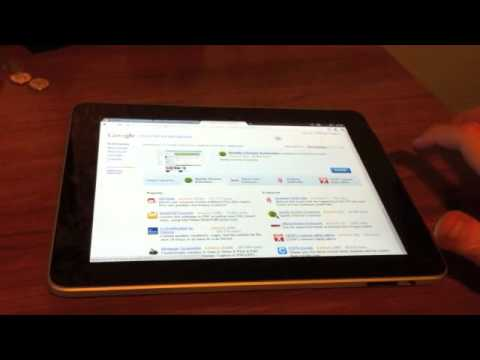 Google Chrome en el iPad