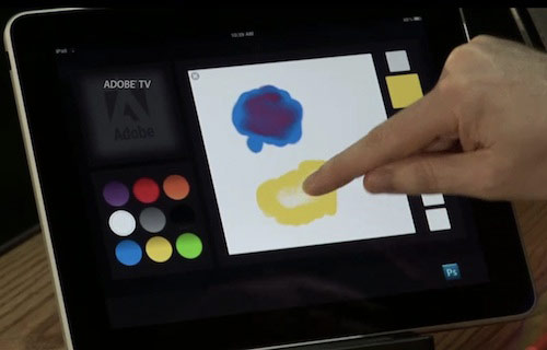 Adobe Considera las posibilidades para la Integración iPhone y IPAD Con Photoshop