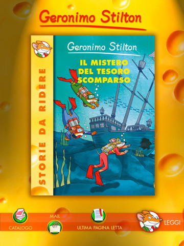Geronimo Stilton trata de IPAD