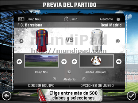Fifa 11 HD optimizado para iPad