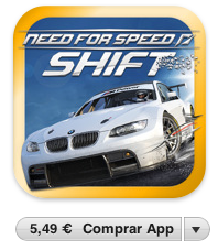 Need For Speed: Shift se actualiza para añadir soporte a iOS 4.2